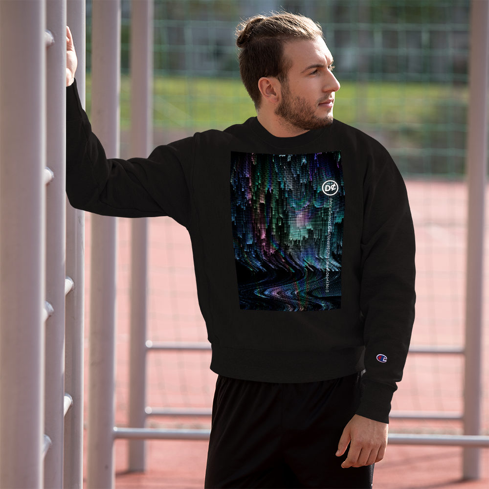 HoloStatic Sweatshirt - D¢ENT Co. UnLtd. Collection